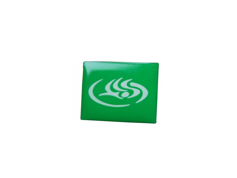 Grüner Pin